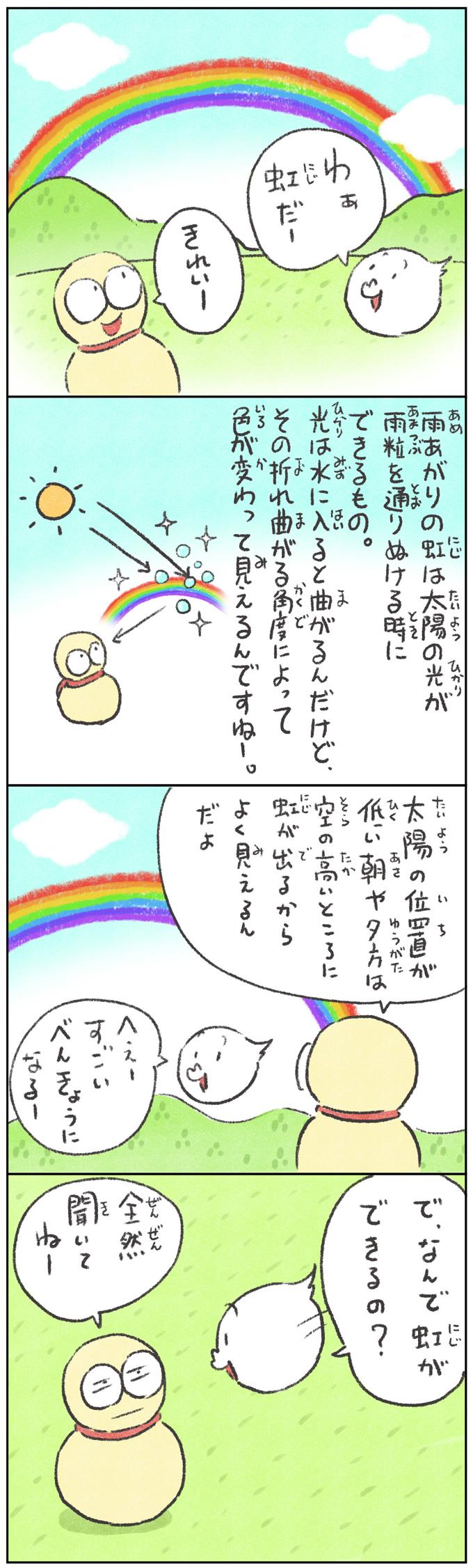 モッツァーマン|虹